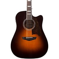 D'angelico Premier Bowery Acoustic-Electric Guitar Sunburst