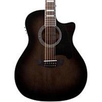 D'angelico Premier Fulton 12-String Acoustic-Electric Guitar Grey Black