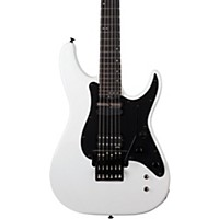 Schecter Guitar Research Sun Valley Ss-Fr Gloss White Black Pickguard