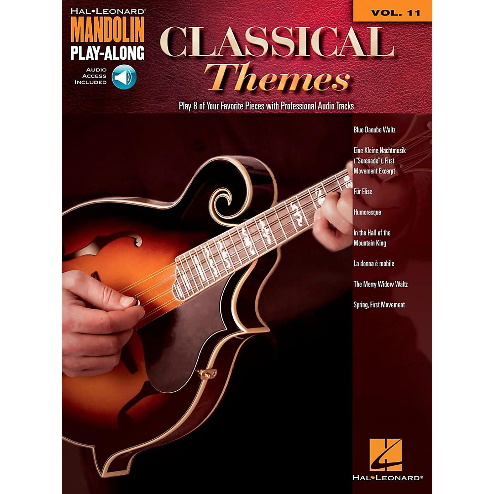 Details about Hal Leonard Classical Themes - Mandolin Play-Along Vol  11  (Book/Audio Online)