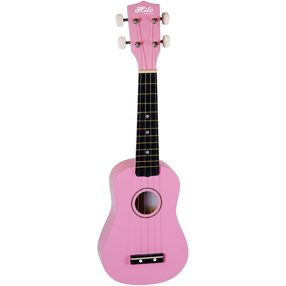 Hilo Soprano Ukulele Pink