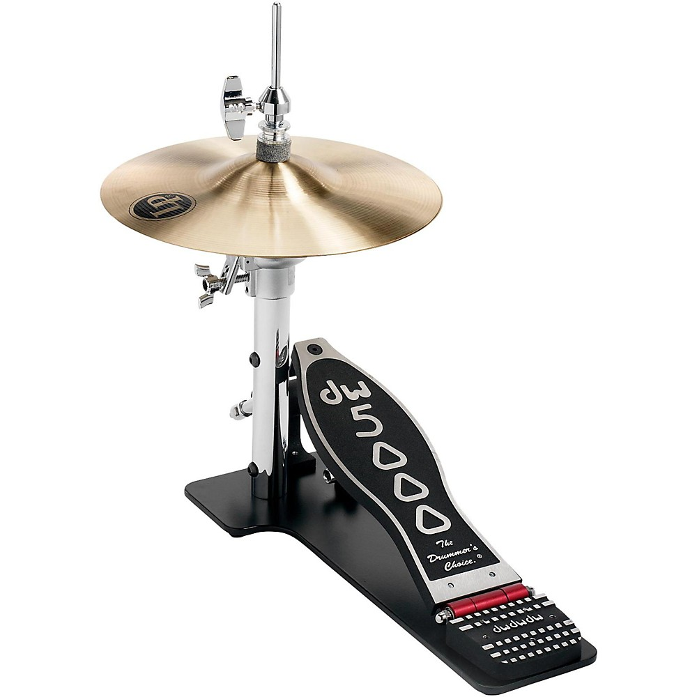 dw 5000 series low boy hi hat with cymbals 647139458083 ebay. Black Bedroom Furniture Sets. Home Design Ideas