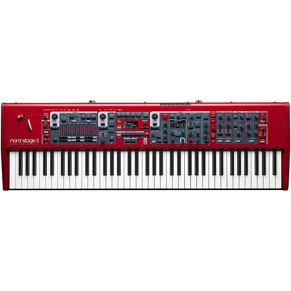 Nord Stage 3 Hp76 Red