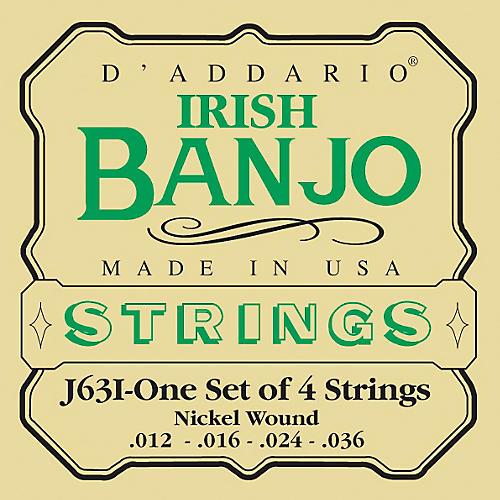 D'Addario J63i 4-String Irish Banjo Strings