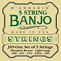 D'Addario J69 5-String Banjo PB Light Loop Strings thumbnail