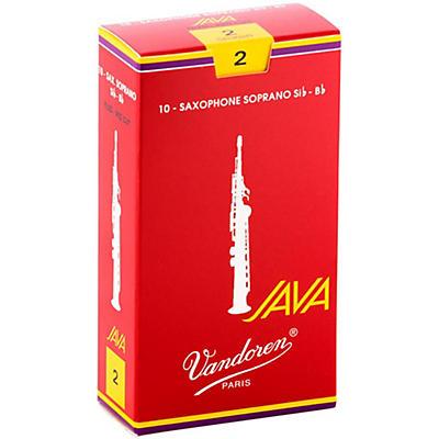 Vandoren JAVA Red Soprano Saxophone Reeds