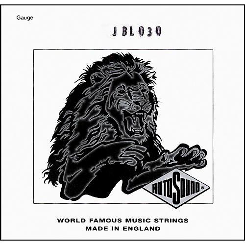 Rotosound JBL30 Jazz Bass Monel Flat Wound .030 Single String