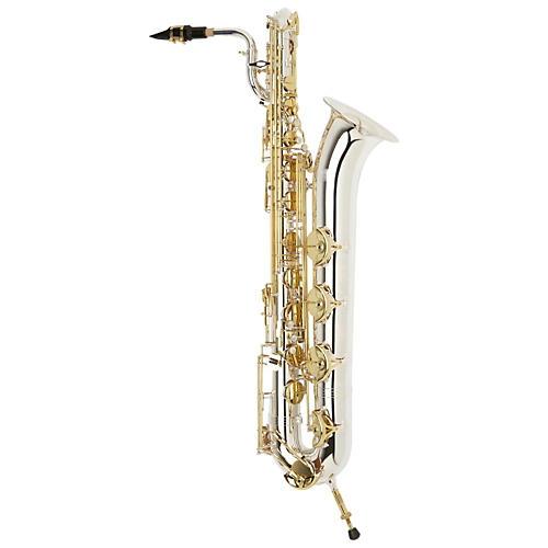 Jupiter JBS1100SG Intermediate Baritone Saxophone Silver Plated Neck and Body