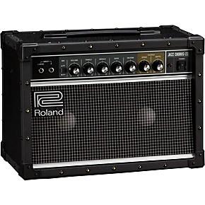 roland jc 22 jazz chorus 30w 2x6 5 guitar combo amplifier black musician 39 s friend. Black Bedroom Furniture Sets. Home Design Ideas