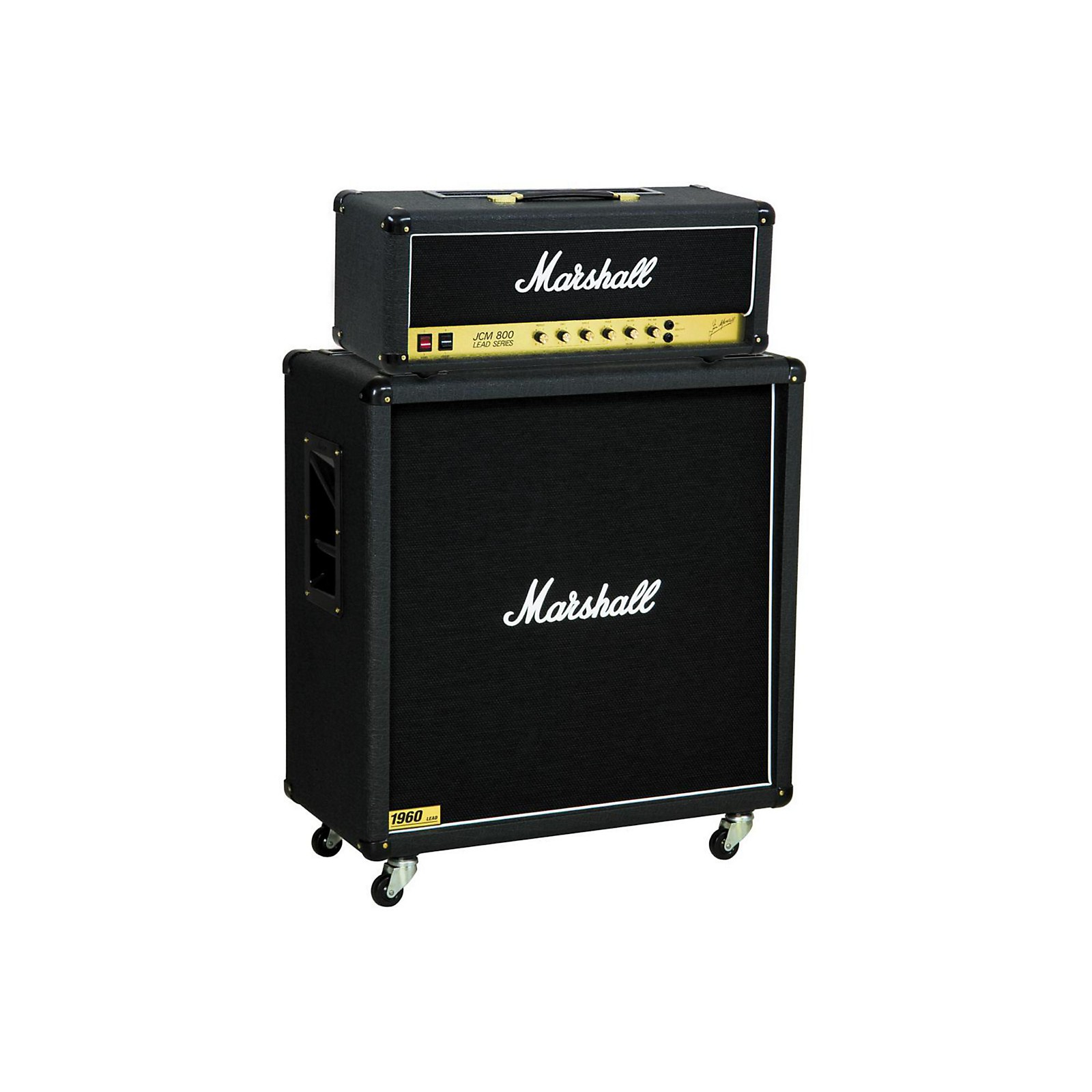 Marshall JCM800 2203 Vintage Series 100W Guitar Tube Head with 1960B 300W 4x12 Cabinet