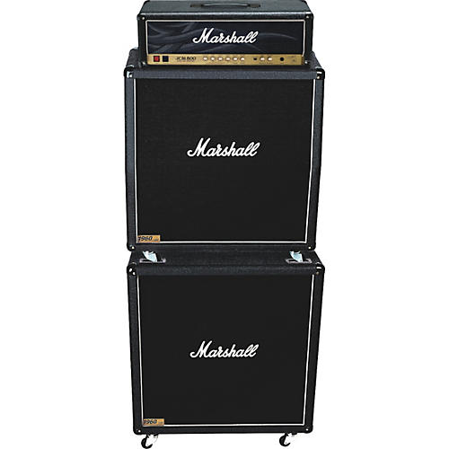 Marshall JCM800 2203KK, 1960A, and 1960B Tube Guitar Full Stack