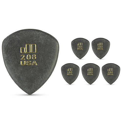 Dunlop JD JazzTone 208 Guitar Picks 6-Pack