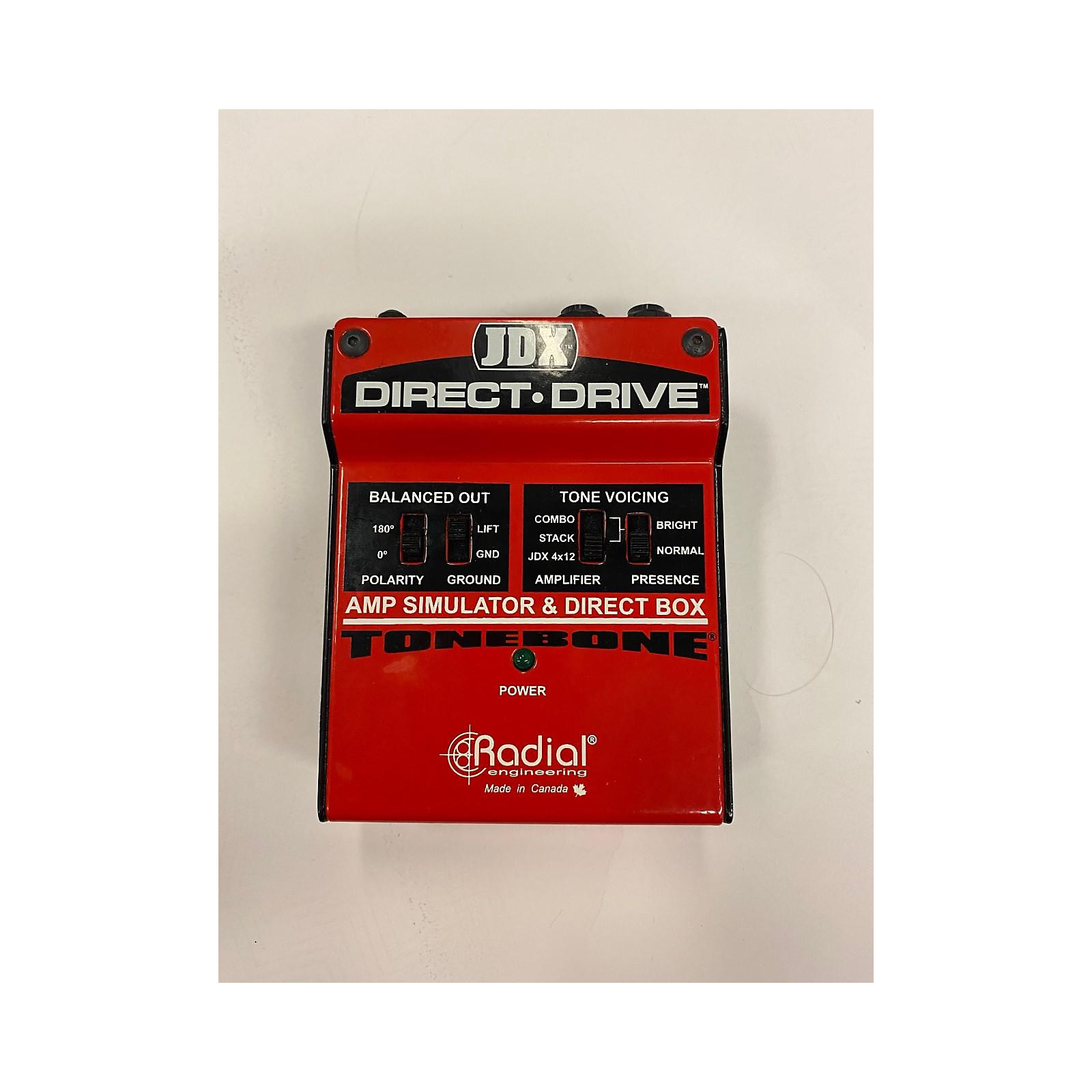 Radial Engineering JDX Direct Drive Bass Effect Pedal