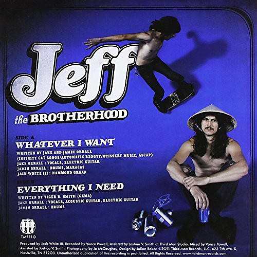 Alliance JEFF the Brotherhood - Whatever I Want/Everything I Need