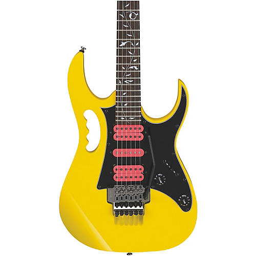 Ibanez JEMJRSP Steve Vai Signature Electric Guitar Yellow