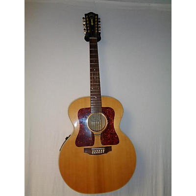 Guild JF3012BL 12 String Acoustic Electric Guitar