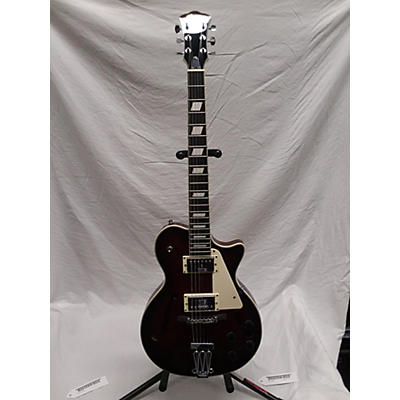 Johnson JH-100 Delta Rose Hollow Body Electric Guitar