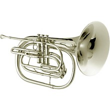 JHR1000M Qualifier Series Bb Marching French Horn Silver
