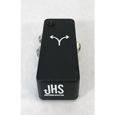 JHS Pedals JHS LITTLE BLACK BUFFERED SPLITTER Pedal