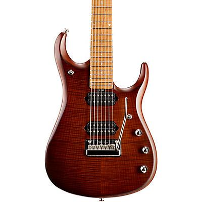 Ernie Ball Music Man JP15 Roasted Flame Maple Top 7-String Electric Guitar