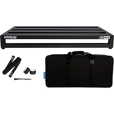 "Pedaltrain JR MAX 28"" x 12.5"" Pedalboard with Soft Case"