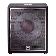 "Open Box JBL JRX218S 18"" Passive Compact Subwoofer with 1,400 W Peak Power Handling"