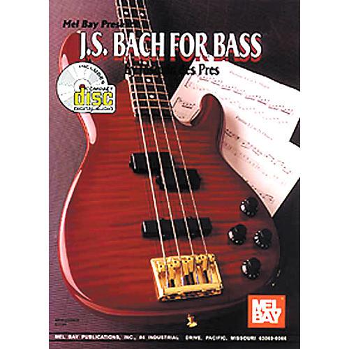 Mel Bay JS Bach for Bass Book