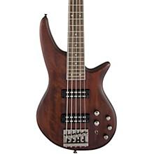 JS Series Spectra Bass JS3V 5-String Walnut Stain