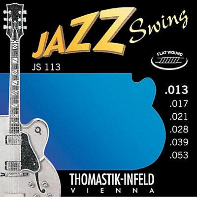 Thomastik JS113 Medium Flatwound Jazz Swing Electric Guitar Strings