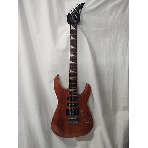 Jackson JS23 Dinky Solid Body Electric Guitar wood grain