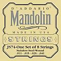 D'Addario JS74 Stainless Steel Mandolin Strings Medium thumbnail