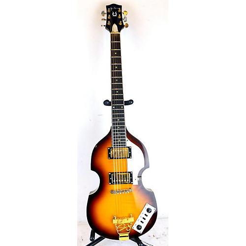 Jay Turser JTG-2 Hollow Body Electric Guitar 2 Color Sunburst