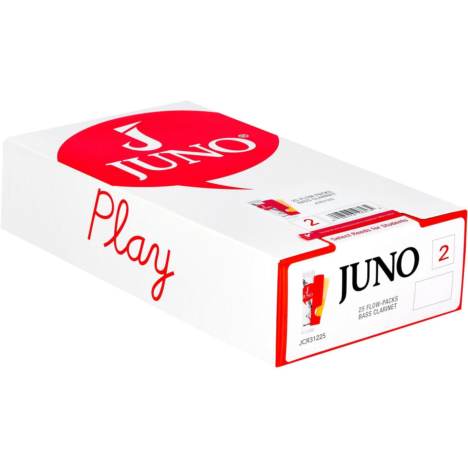 Vandoren JUNO Bass Clarinet, Box of 25 Reeds