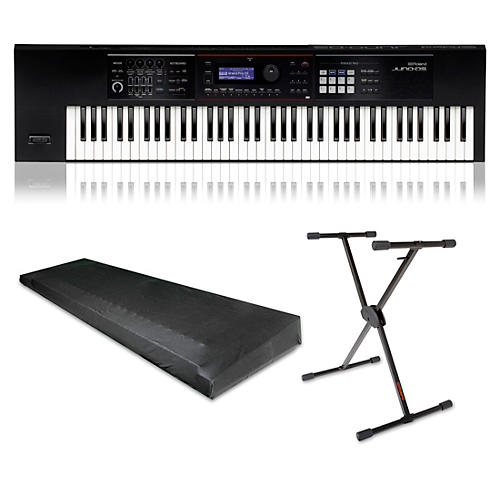 Roland JUNO DS76 Essentials Kit Black