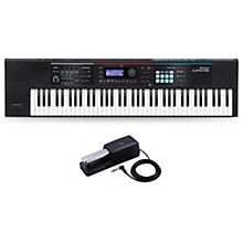 Roland JUNO-DS76 Synthesizer With DP-2 Pedal