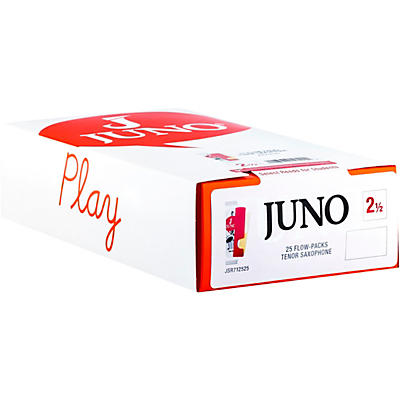 Vandoren JUNO Tenor Sax, Box of 25 Reeds