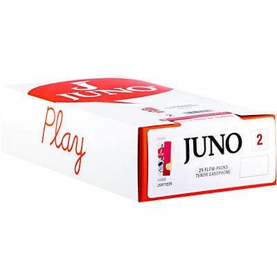 Vandoren JUNO Tenor Sax, Box of 25 Reeds