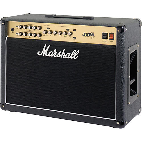 marshall jvm series jvm210c 100w 2x12 tube guitar combo amp black musician 39 s friend. Black Bedroom Furniture Sets. Home Design Ideas