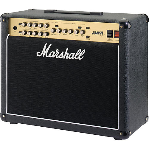 marshall jvm series jvm215c 50w 1x12 tube combo amp black musician 39 s friend. Black Bedroom Furniture Sets. Home Design Ideas