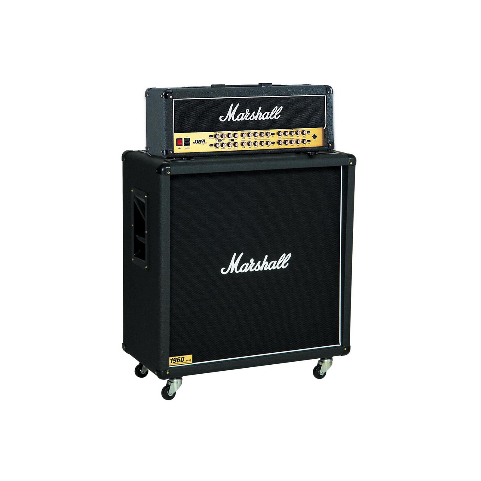 Marshall JVM Series JVM410H 100W Guitar Tube Head with 1960B 300W 4x12 Cab