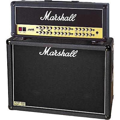 Marshall JVM410H and 1936 2x12 Tube Guitar Half Stack
