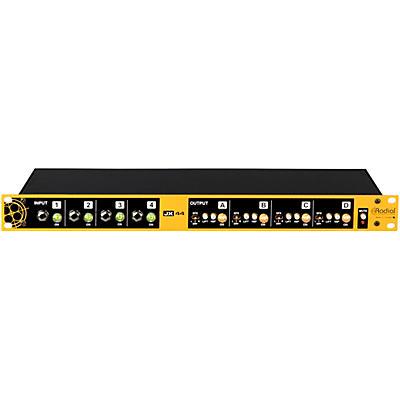 Radial Engineering JX44 V2 Guitar, Amp, & FX Signal Manager