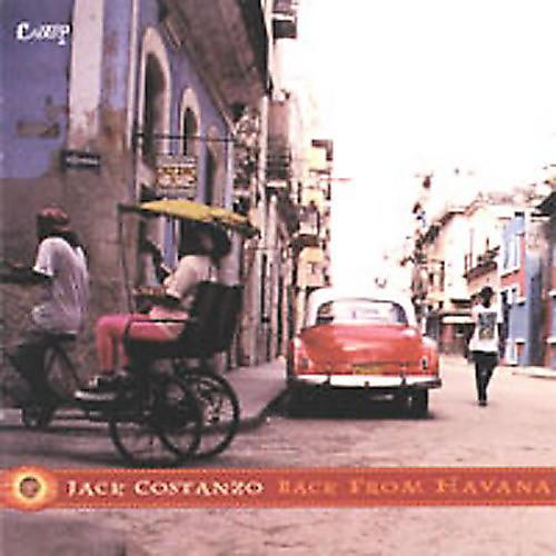Alliance Jack Costanzo - Back from Havana