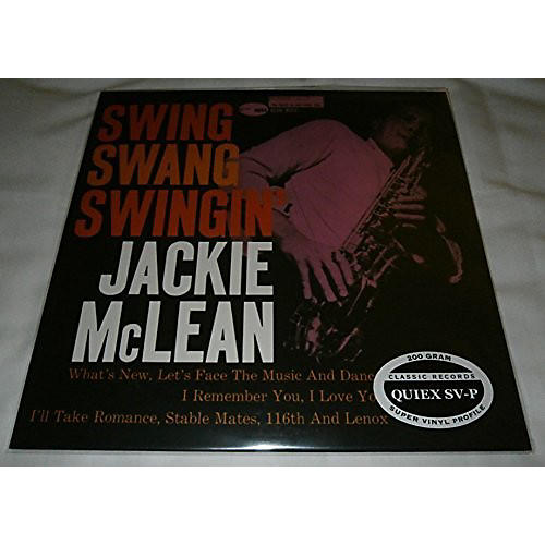 Alliance Jackie McLean - Swing Swang Swingin