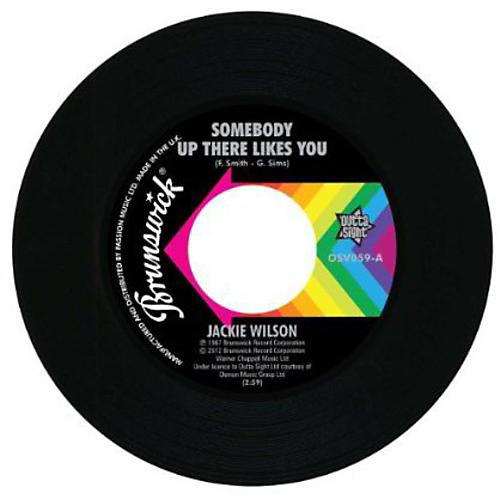 Alliance Jackie Wilson - Somebody Up There Likes You/A Lovely Way to Die