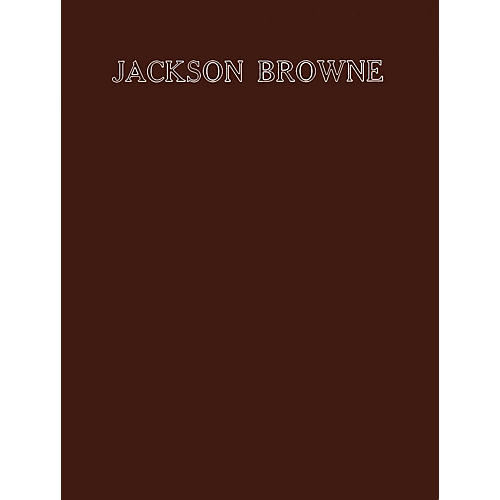 Criterion Jackson Browne (8 Songs from His First Two Albums) Criterion Series Softcover Performed by Jackson Browne