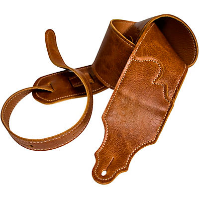 Franklin Strap Jackson Hole Aged Leather Guitar Strap