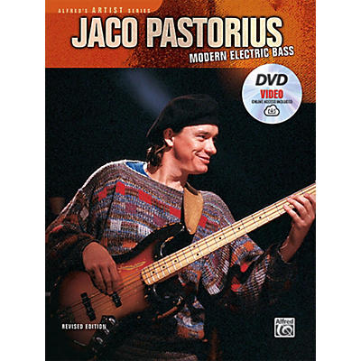 Alfred Jaco Pastorius: Modern Electric Bass Book, DVD & Online Video