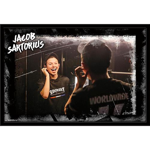 Trends International Jacob Sartorious - Backstage Poster Framed Black