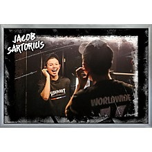 Jacob Sartorious - Backstage Poster Framed Silver